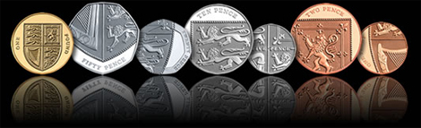 British Coins - New Design