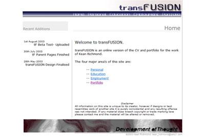 trans-fusion : Version 1